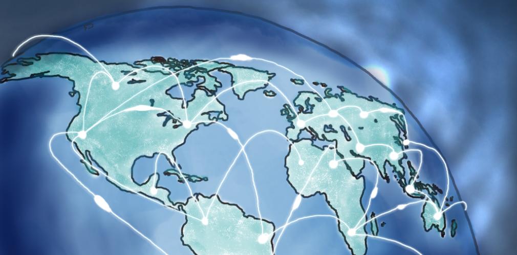 Globe networked
